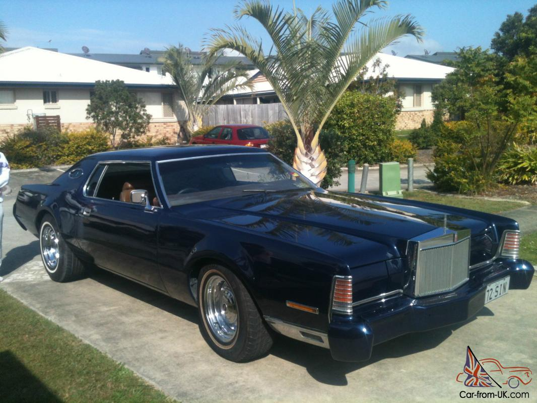 Rare 1973 Lincoln Continental 2 Door Coupe In Brisbane Qld