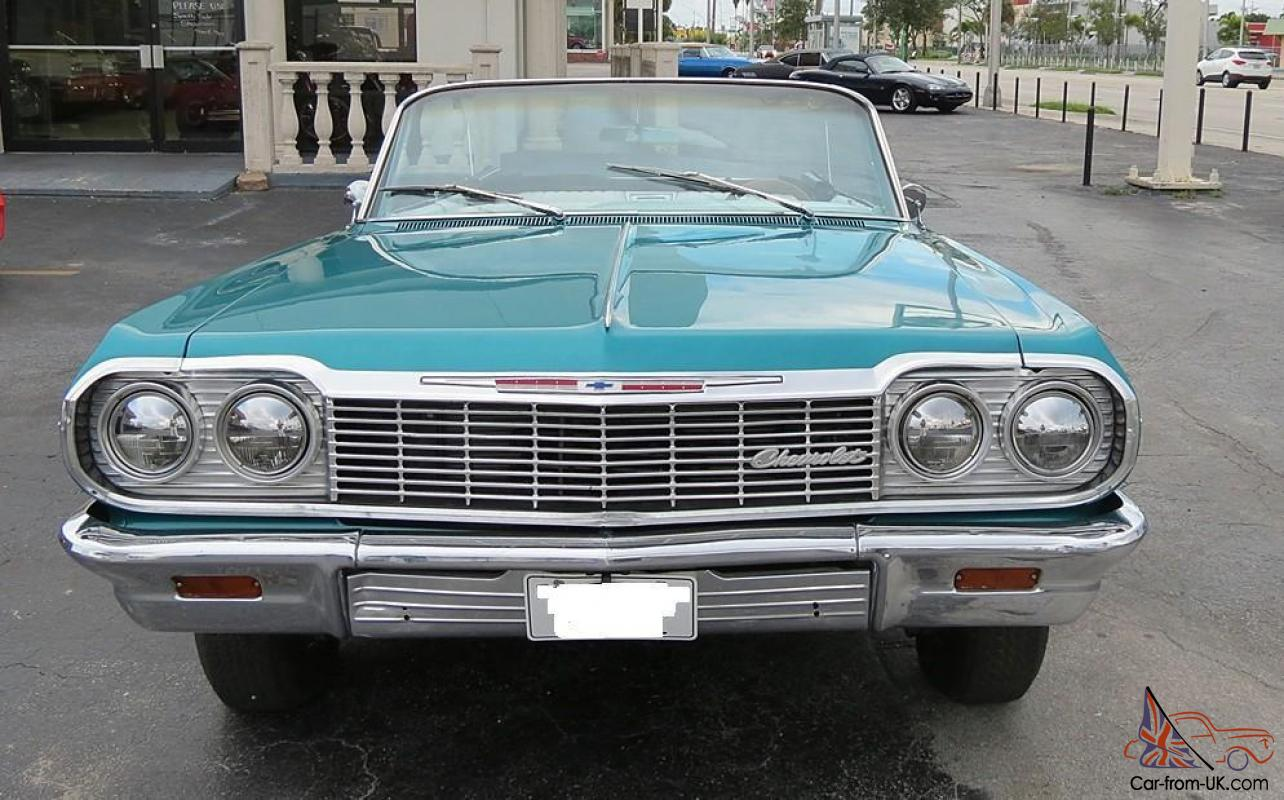 Find used 1964 CHEVY IMPALA SS FUEL INJECTED ENGINE, AUTO ... |Impala Hydraulics