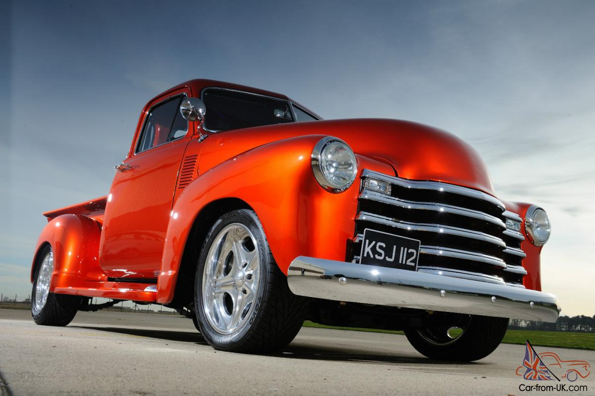 Pickup 1952 chevy pickup for sale : 1952 Chevy Pickup Truck