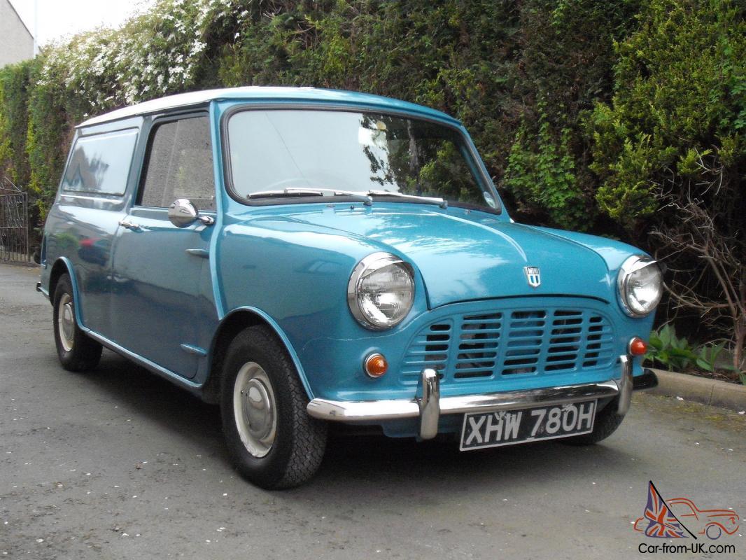 Minivan For Sale >> 1970 Morris Minivan Classic Austin Bmc Van Full Mot