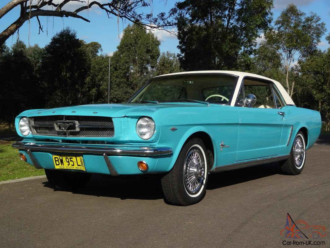 mustang 64 1 2 d code 289 4v in sydney, nsw photo