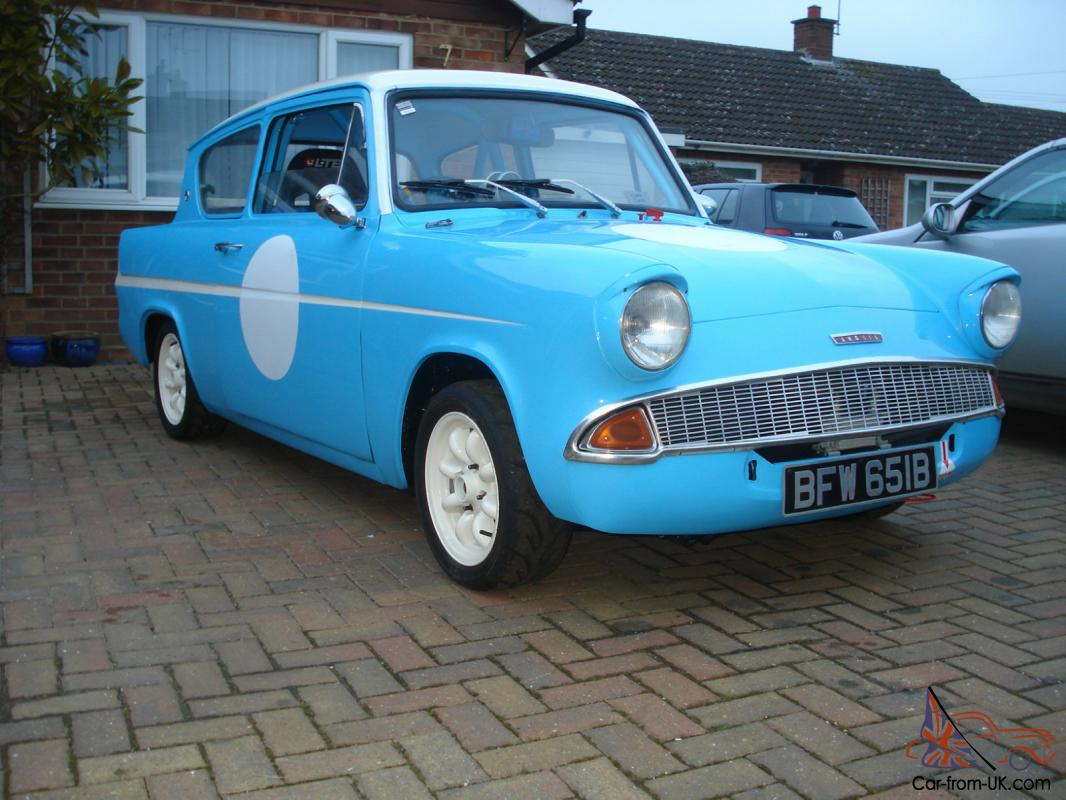 ANGLIA - FULL RACE - FULLY RESTORED AND READY TO RACE - FIA - HTP PAPERS TOO