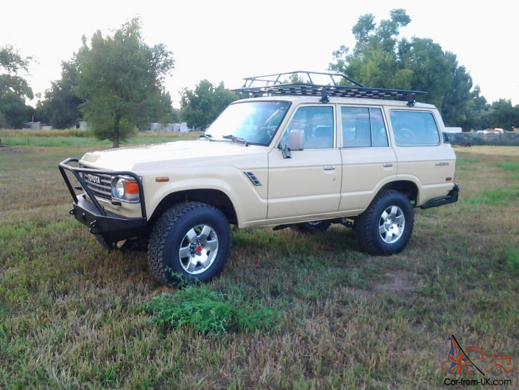 Fj60 For Sale >> 1985 Fuel Injected Fj60 2fe Motor H55f 5 Speed No Reserve Fresh Build