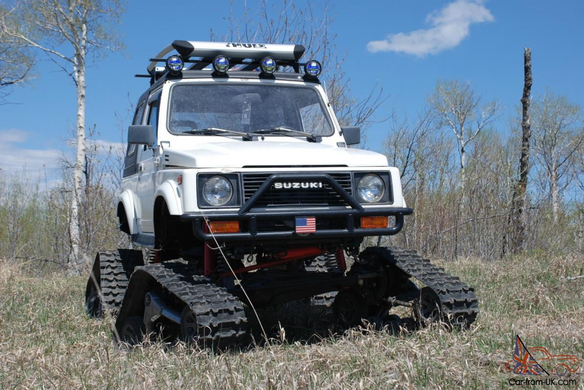 Suzuki Samurai Snowcat Jeep Rockcrawler 4x4 Lifted Tracks