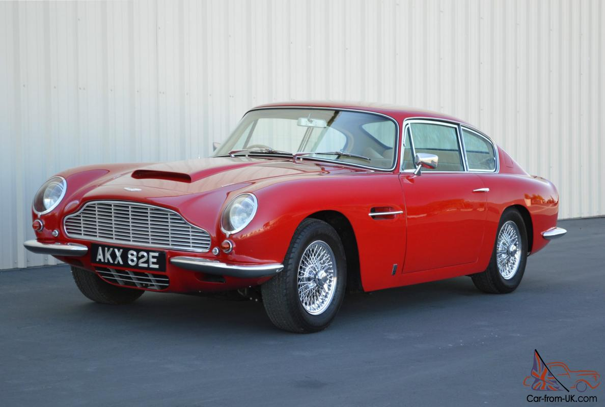 1967 Aston Martin Db6 Rebuilt Engine Suspension Upgrades