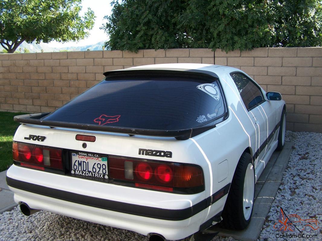 1987 Mazda Rx 7 Turbo Coupe 2 Door 1 3l