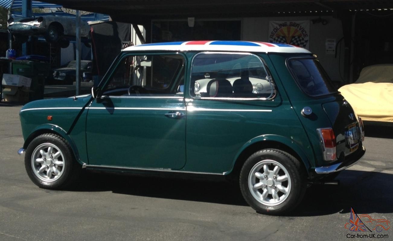 1971 Mini Cooper 1000 Saloon British Green Union Jack Full