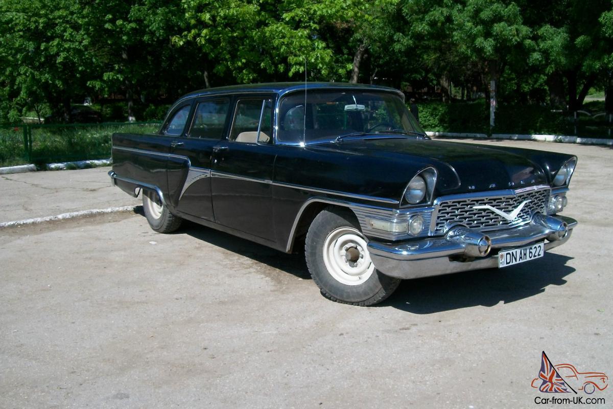 1961 gaz 13 chayka vintage car