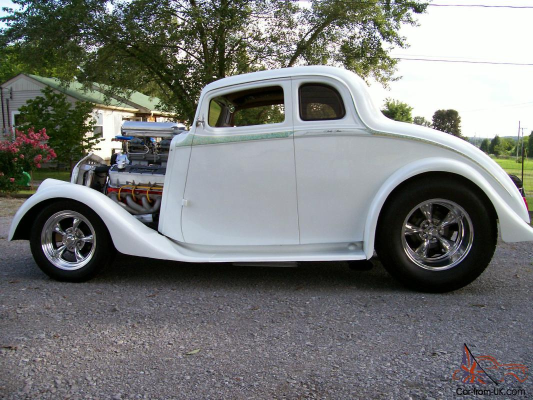 Coupe 1933 chevy coupe sale : 1933 WILLYS COUPE STREET ROD BIG BLOCK CHEVY ENGINE 9
