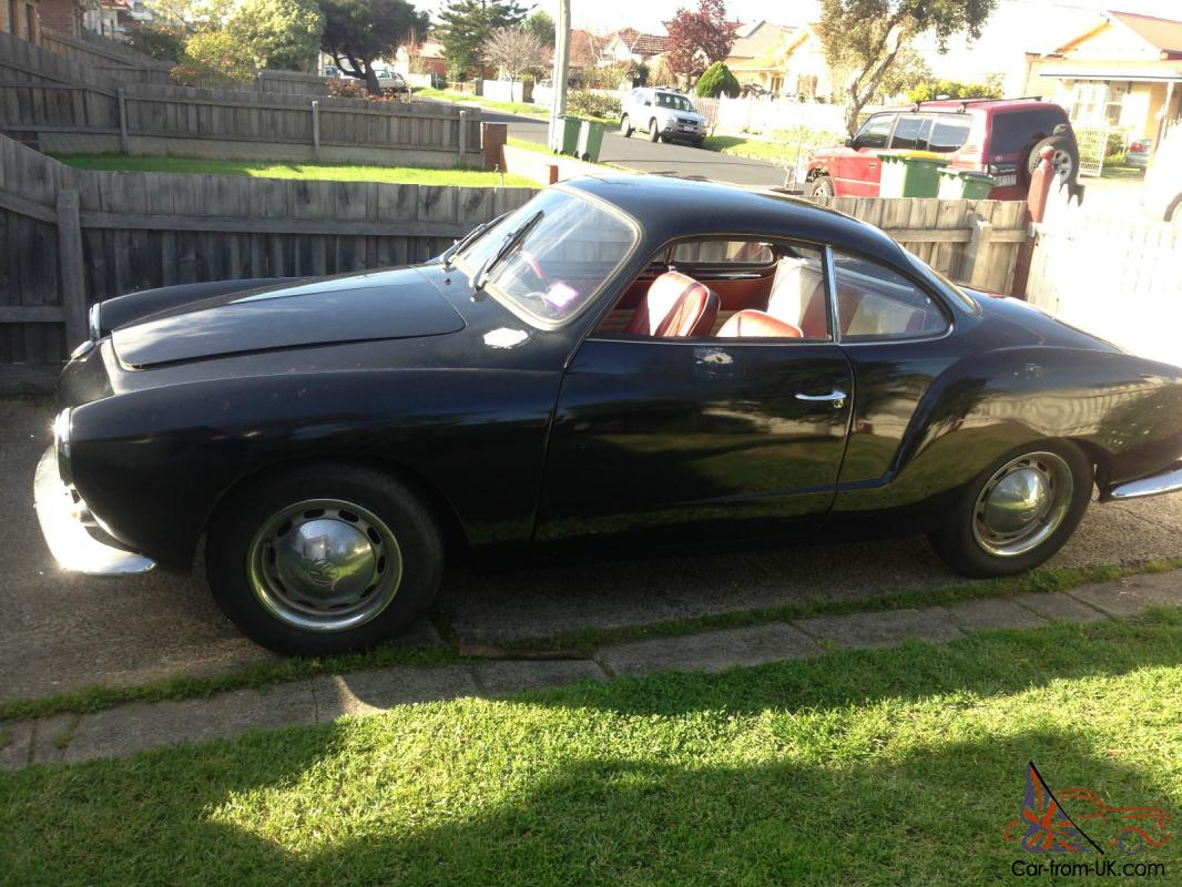 Karmann Ghia Vw 1962 Coupe