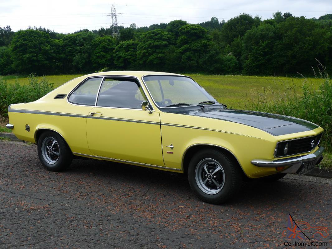 1972 Opel Manta Rallye 1 9 Automatic