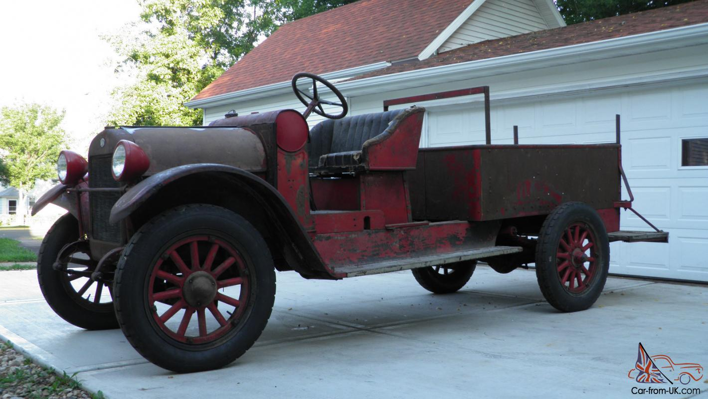 1923 REO Speedwagon Fire Truck  Barn Find  Fire engine  Survivor