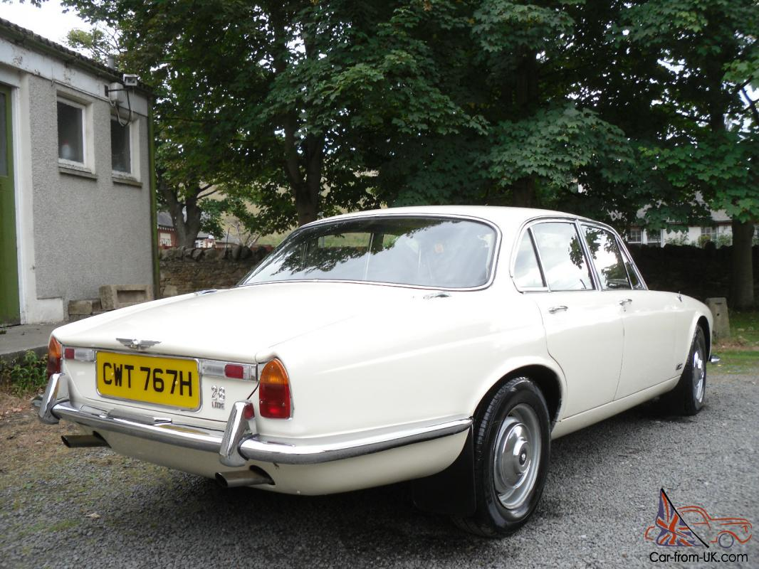 CLASSIC CAR 1970 JAGUAR XJ6 S1 2.8 S.W.B, MANUAL/OVERDRIVE