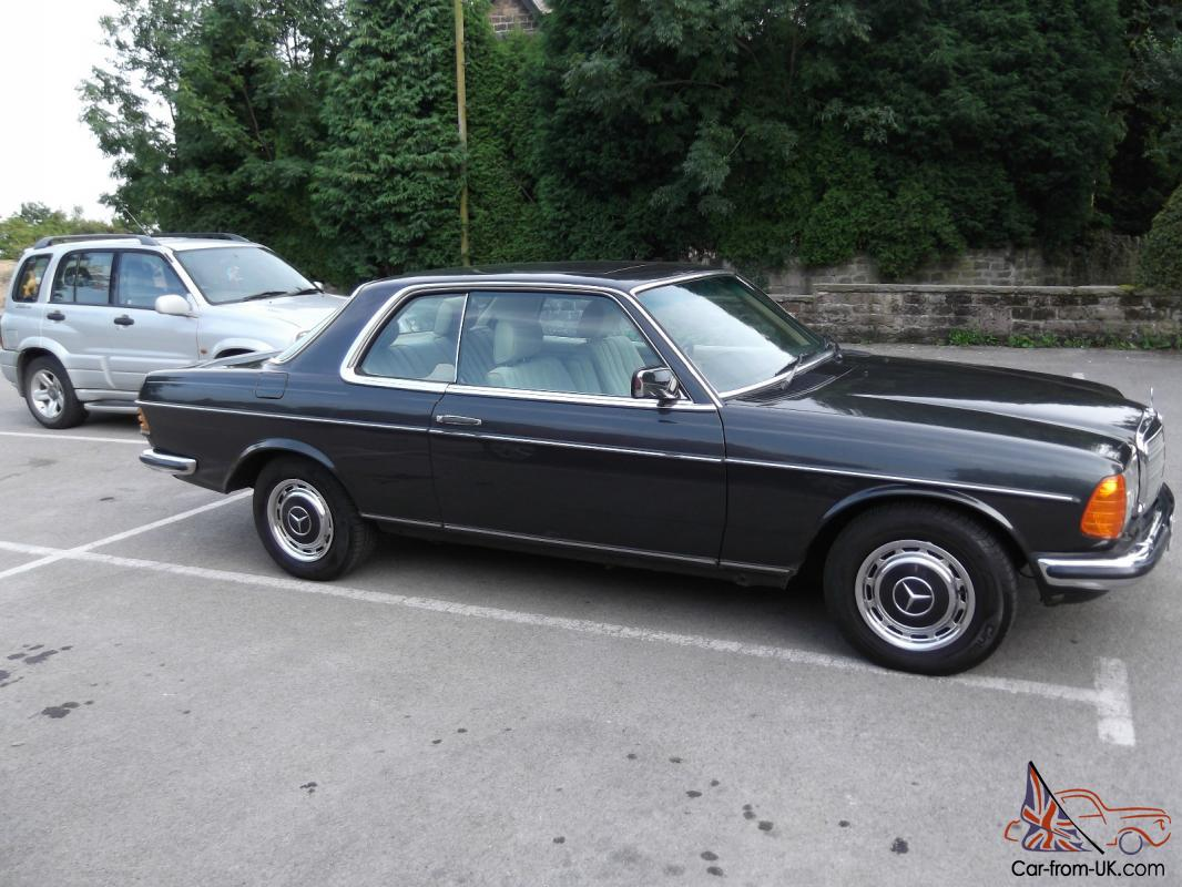Mercedes 280CE Classic W123 Series Coupe