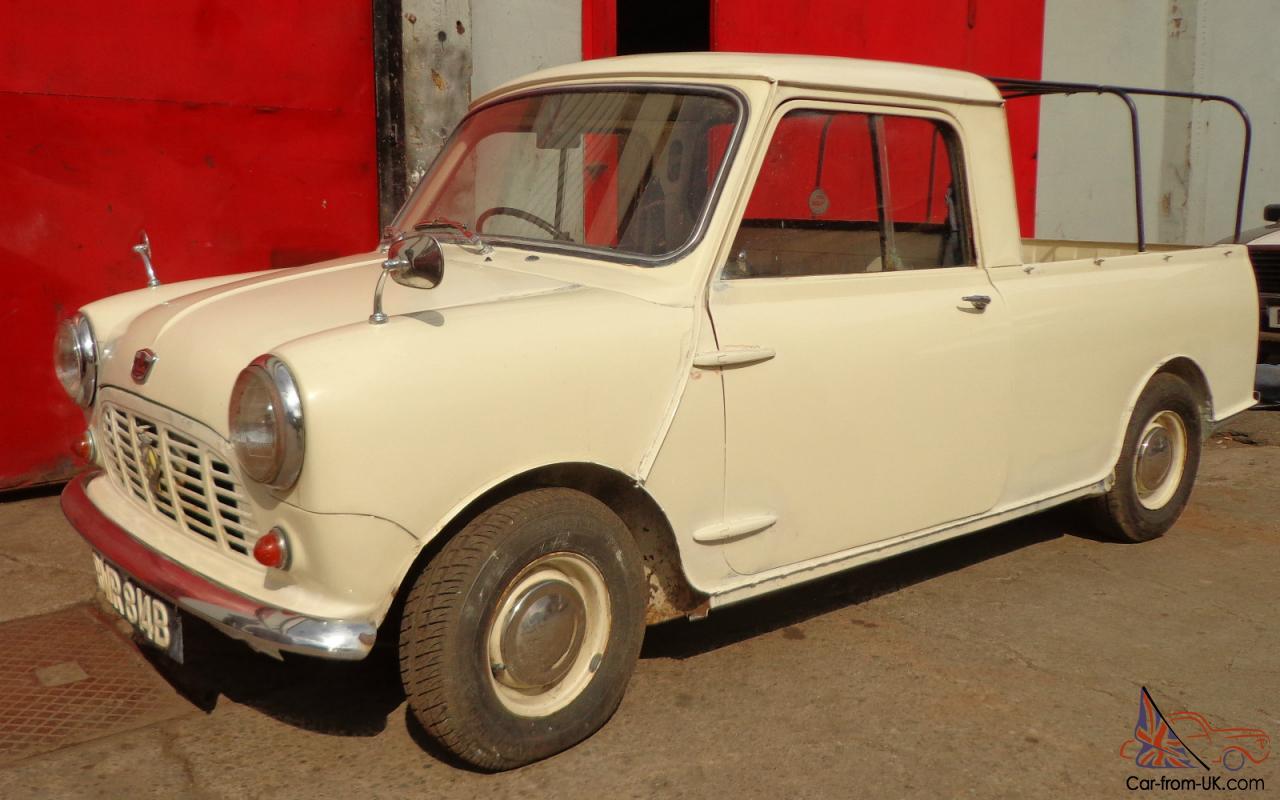 Austin Mini 850 Pick Up White Ebay Motors 221219803122