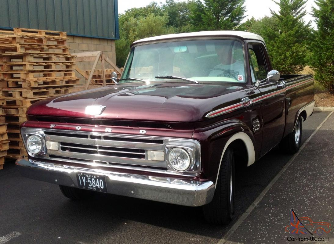 1964 ford f100 v8 pick up truck classic american. Black Bedroom Furniture Sets. Home Design Ideas
