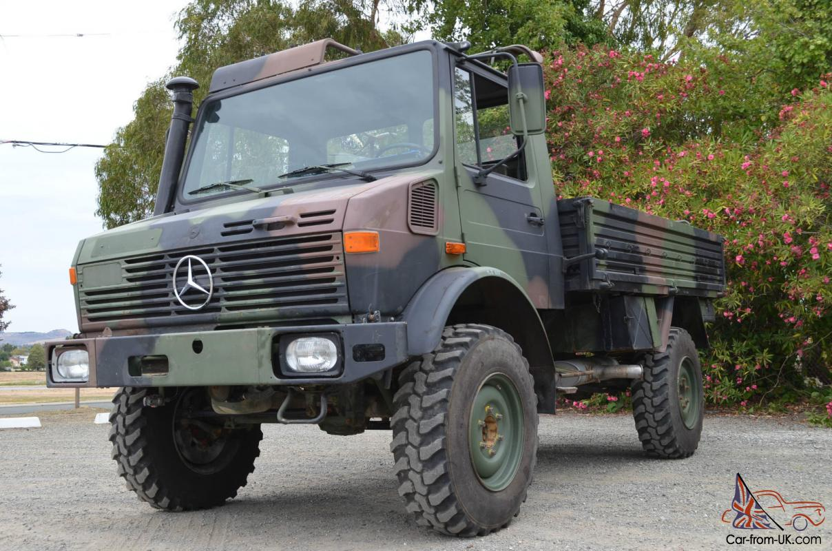 Unimog For Sale >> 1987 Mercedes Benz Unimog U1300l Turbo And Fast Axles Recent Release