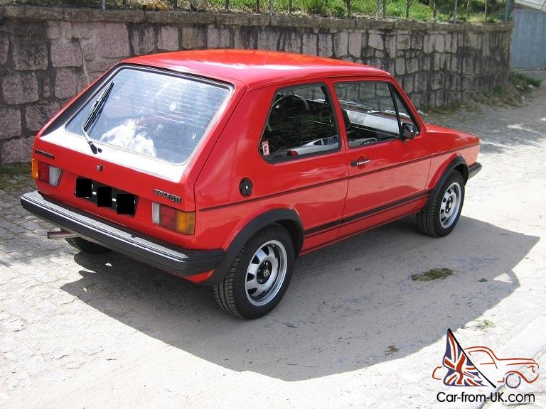 Vw Golf Gti Mk1 Phase 1 06 1980 Mint Condition