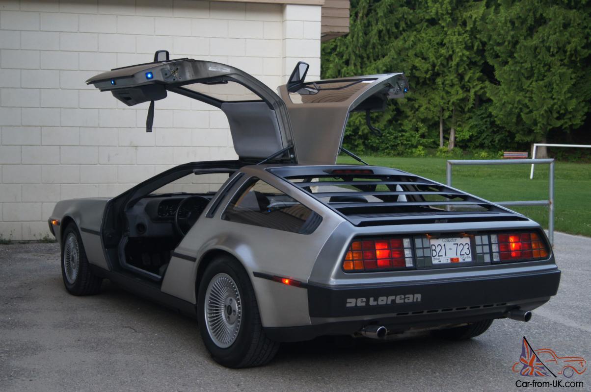 Delorean Car For Sale >> 1983 Delorean Canadian Edition