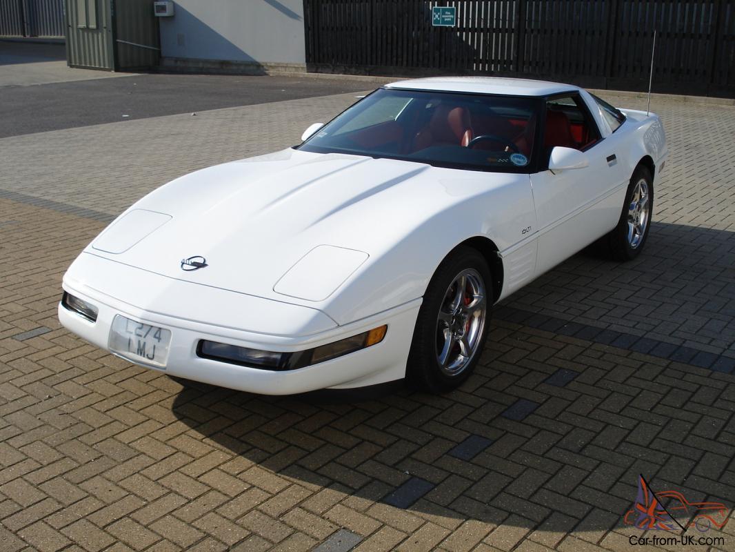 Corvette 1994 chevy corvette : CHEVY C4 CORVETTE 1994 (WHITE)