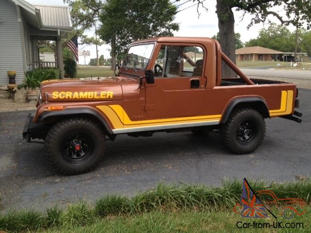 1981 Jeep Scrambler Cj8 Rare Classic Scrambler In Great Condition