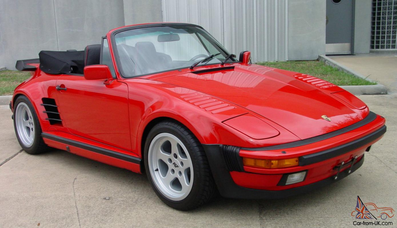 1988 Porsche 911 >> 1988 Porsche 911 Turbo Cabriolet Slant Nose