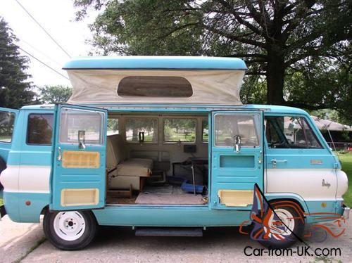 Dodge A100 For Sale >> Dodge A100 Camper Van 1969 In Melbourne Vic