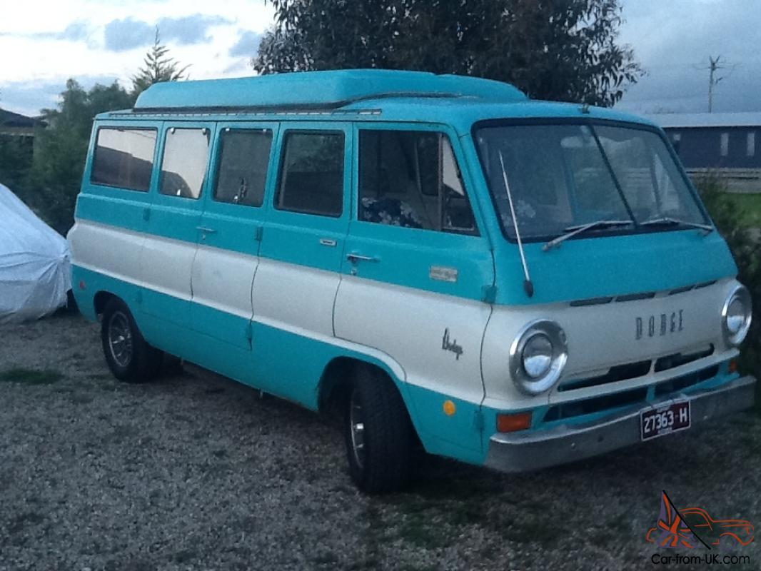 Dodge A100 Camper Van 1969 In Melbourne Vic