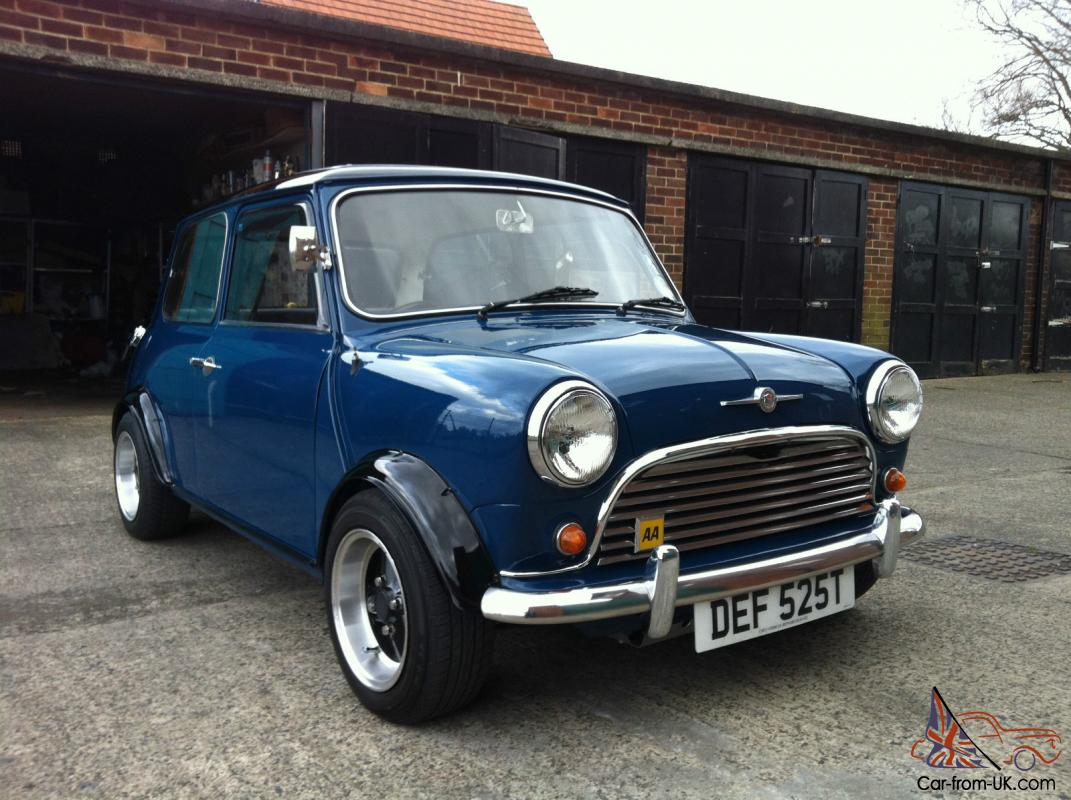 Vw Specialist Near Me >> 1979 AUSTIN MORRIS MINI BLUE RETRO MINI