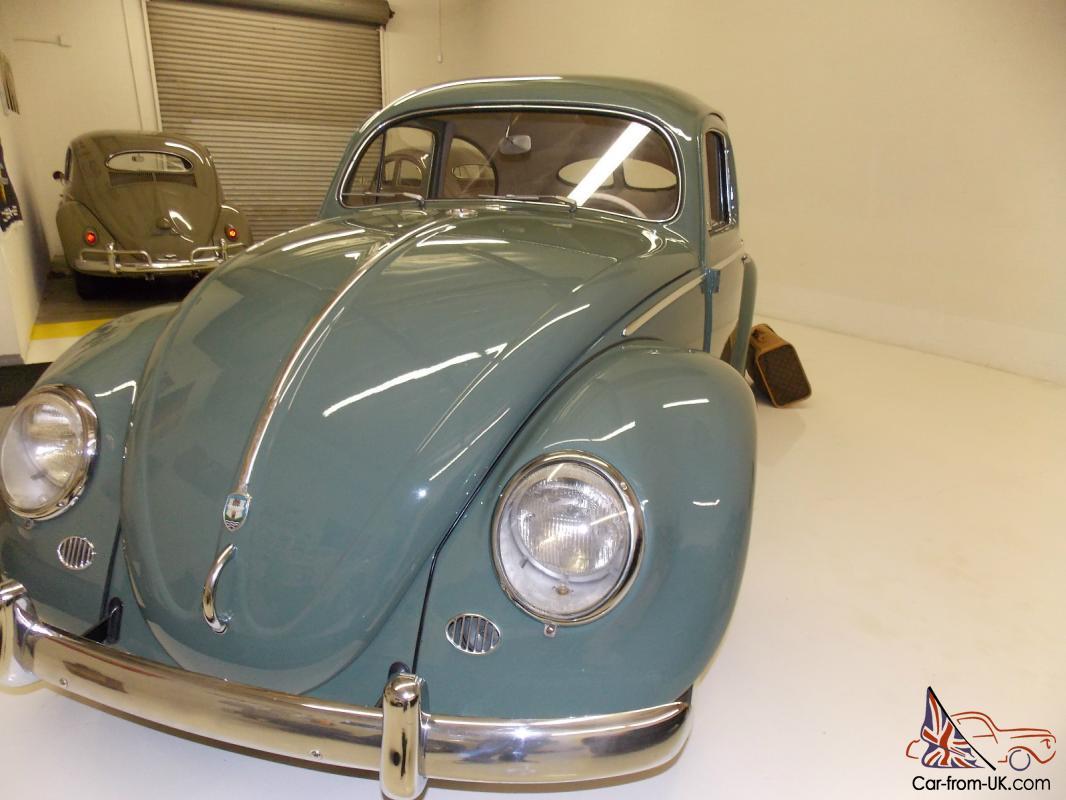 volkswagen beetle split window zwitter super rare