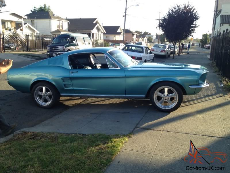 mustang 1967 fastback ford deluxe gt code interior aqua source