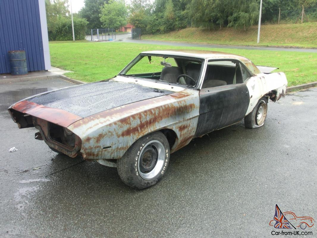 1968 Camaro Project For Sale >> 1969 Chevrolet Camaro Ss