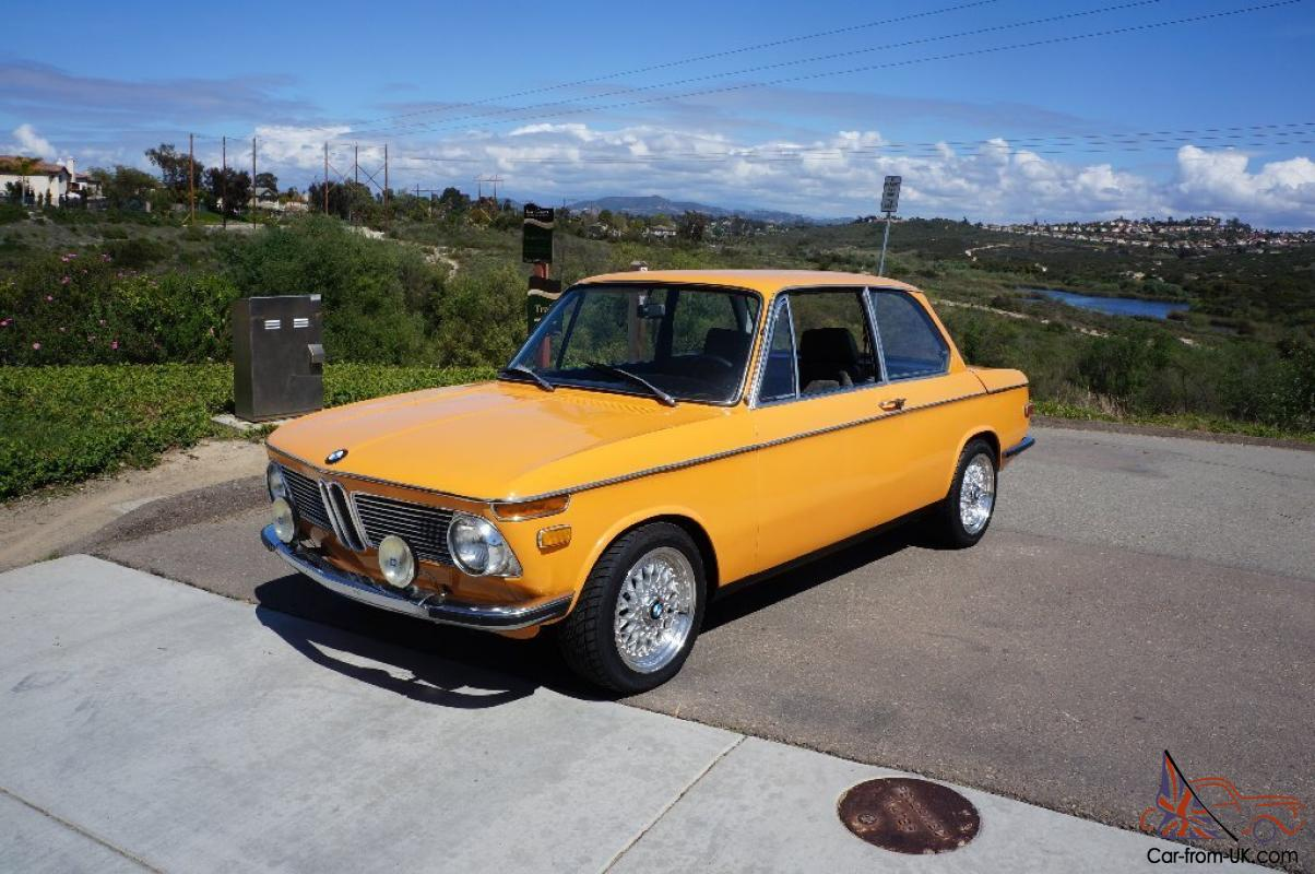 Colorado Orange 1972 Bmw 2002tii For Sale