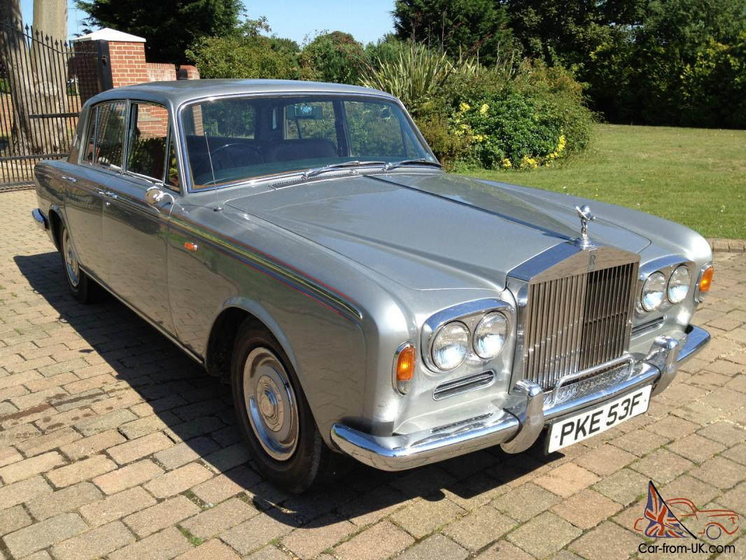 1968 Rolls Royce Silver Shadow  Charming