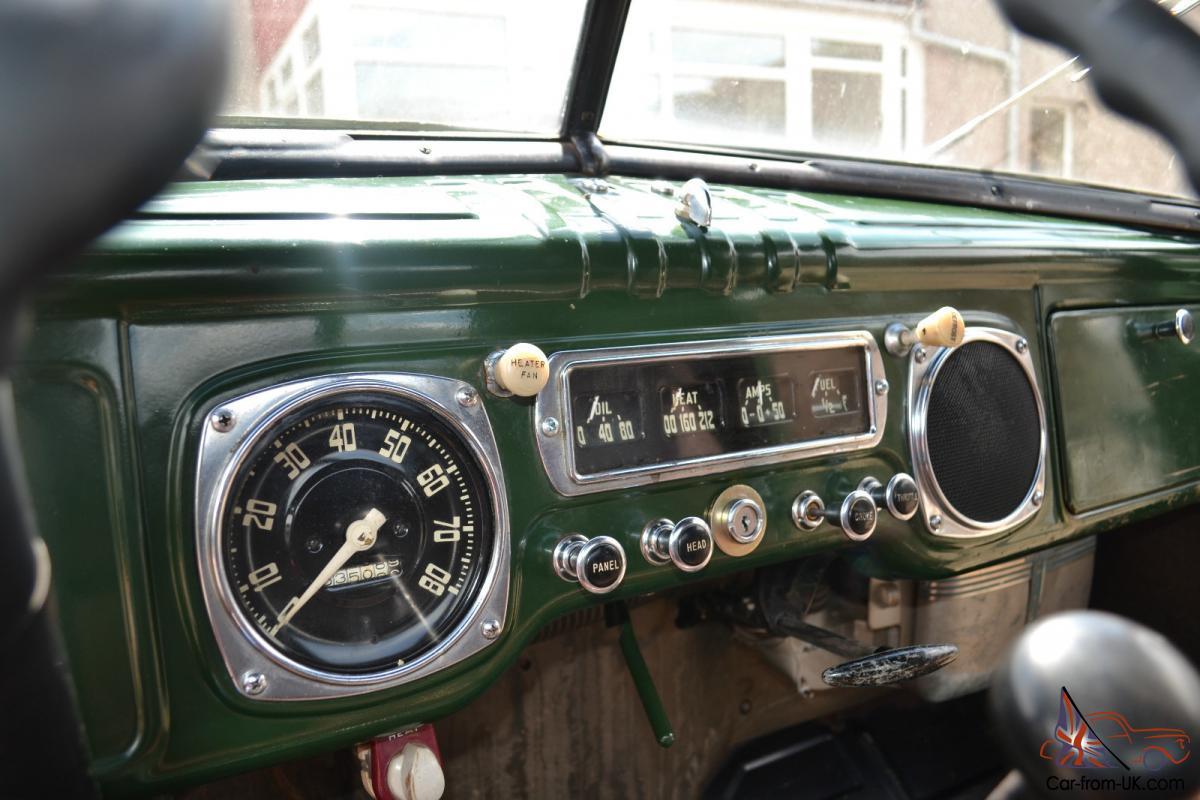 Vintage American 1950 Dodge B2C Pickup Truck - original Flathead 6 Cylinder
