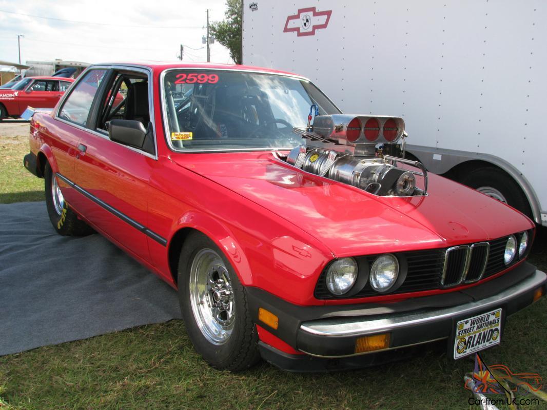 1984 Bmw Drag Car 509 Inch Big Block Chevy 10 71 Blown And