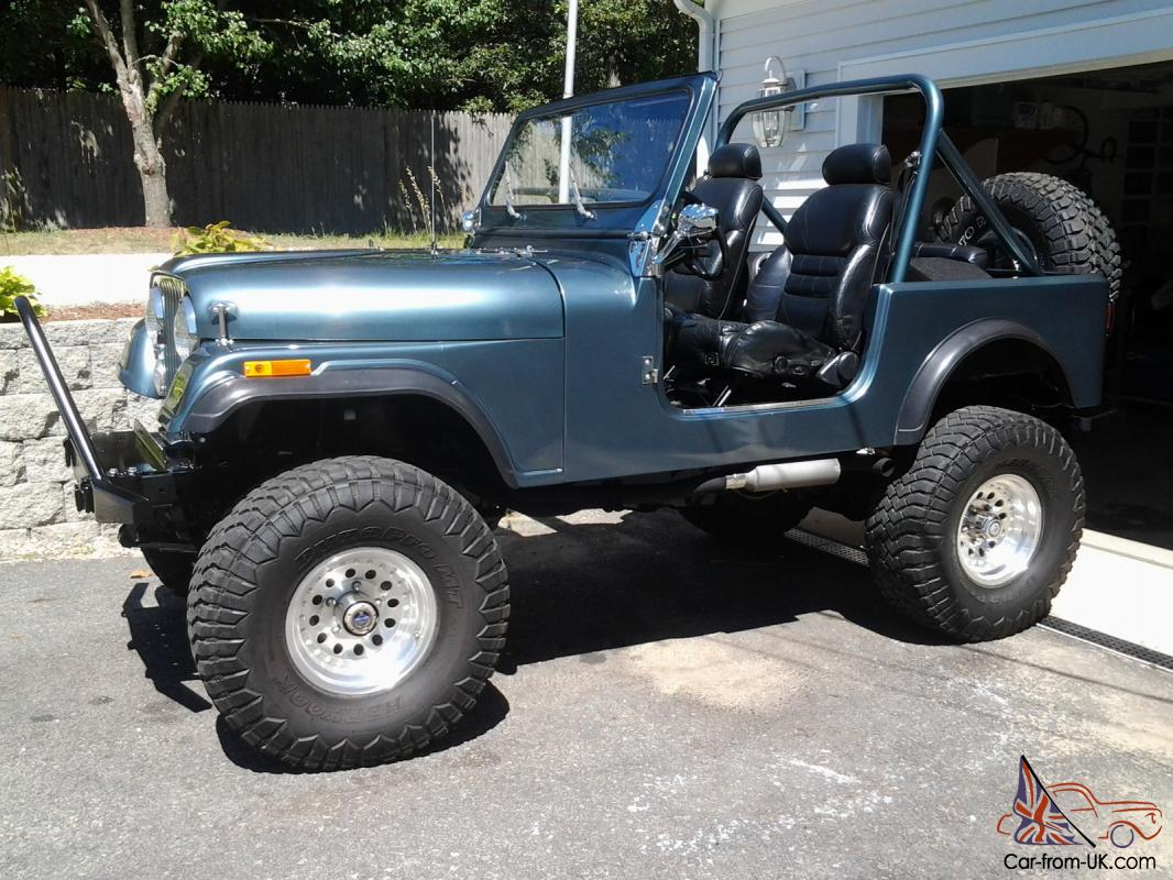 1985 Jeep CJ7 body off restoration with AMC 360 Beautiful