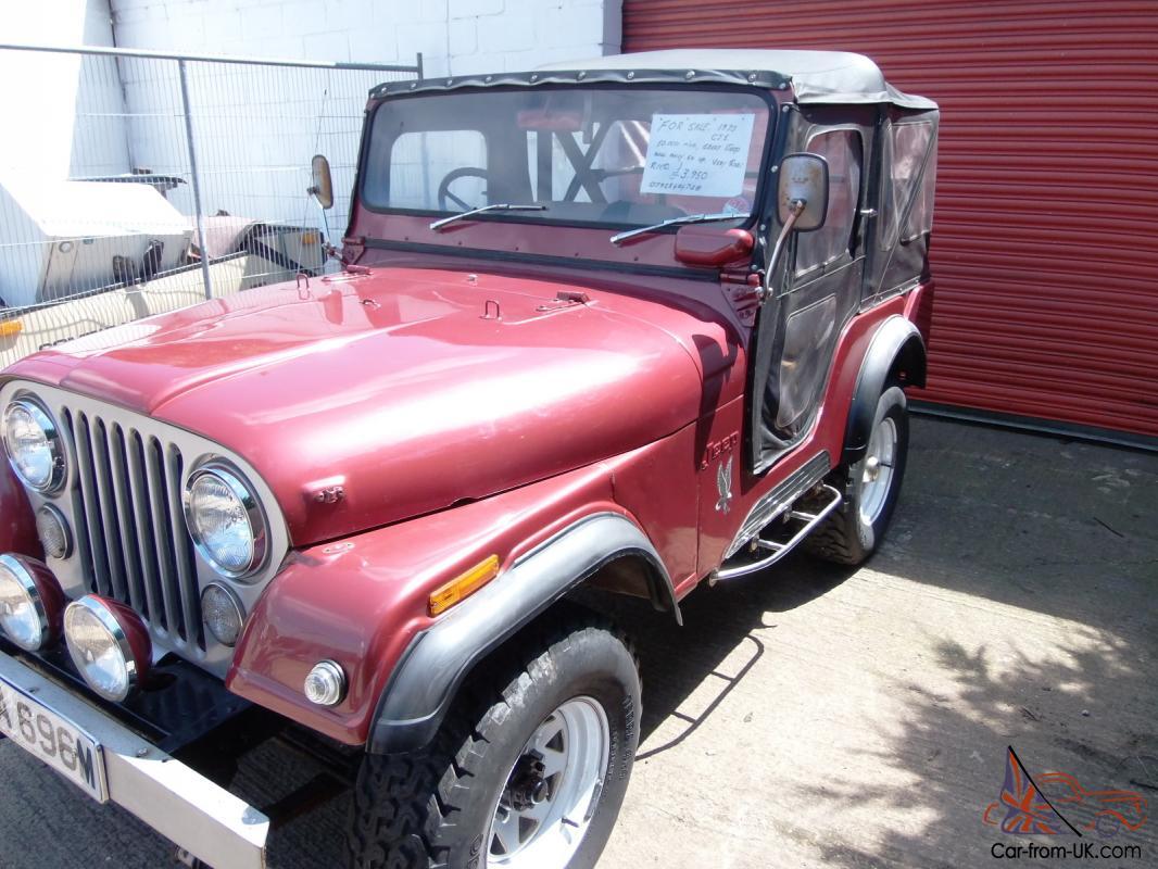 Right Hand Drive Jeep For Sale >> Rare 1973 Right Hand Drive Cj5 Jeep
