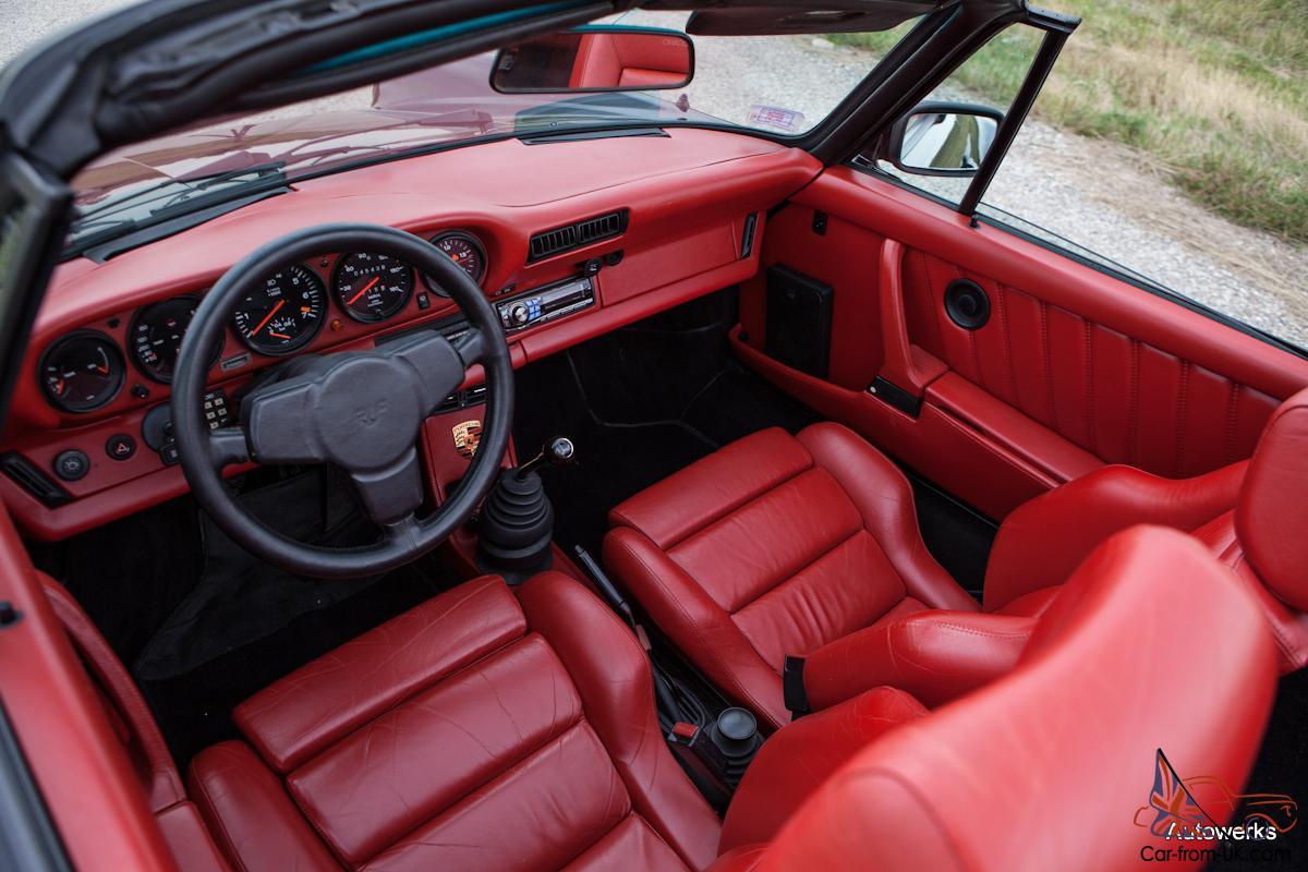 Rare 1984 Ruf Porsche 930 Turbo Cabriolet Documented Service History 911