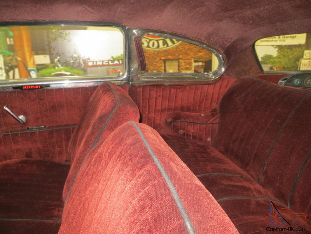 1951 Mercury Coupe Flathead V8 Ford Hot Rod Lead Sled