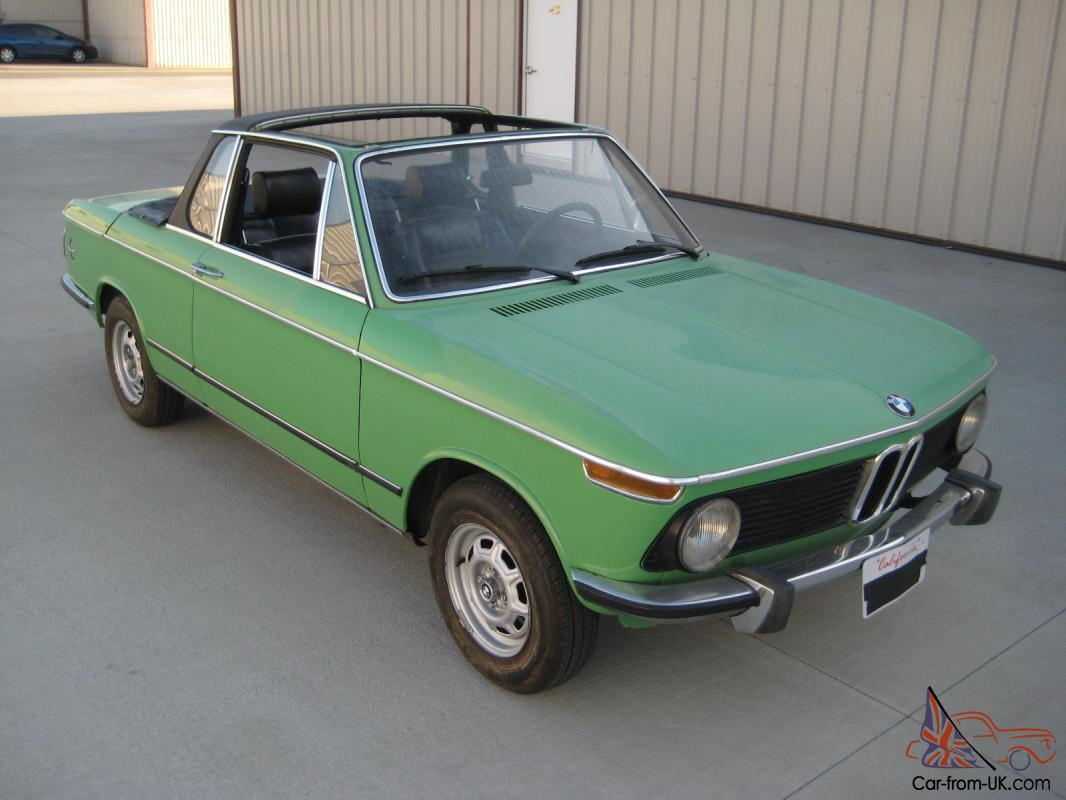 best authentic dc63e 472a0 1975 BMW 2002 Baur Targa Convertible