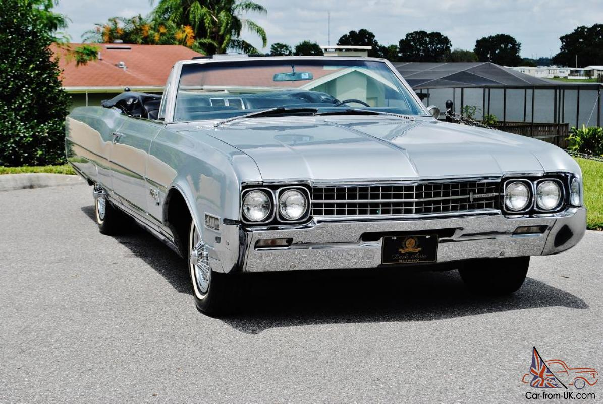 1966 Oldsmobile 98 Convertible 1 owner simply stunning this car is ...