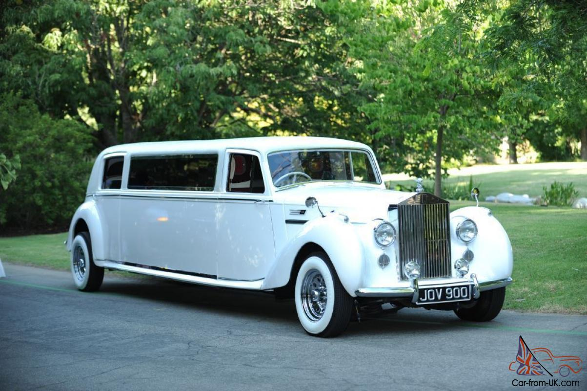 Limousine For Sale >> 1949 Bentley Mark Vi Saloon Chassis Rolls Royce Body 100 Stretch Limousine