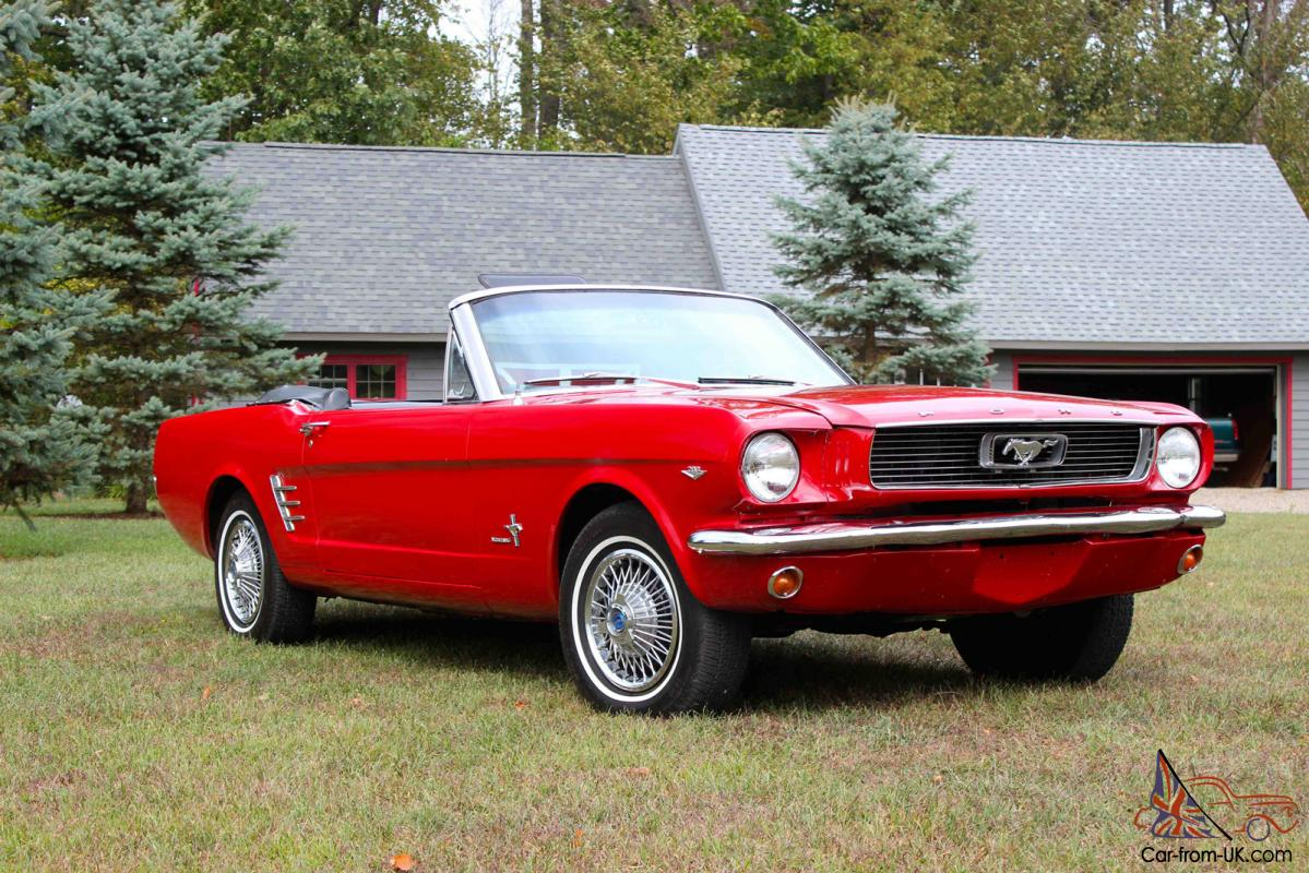 1966 Mustang Convertible Classic