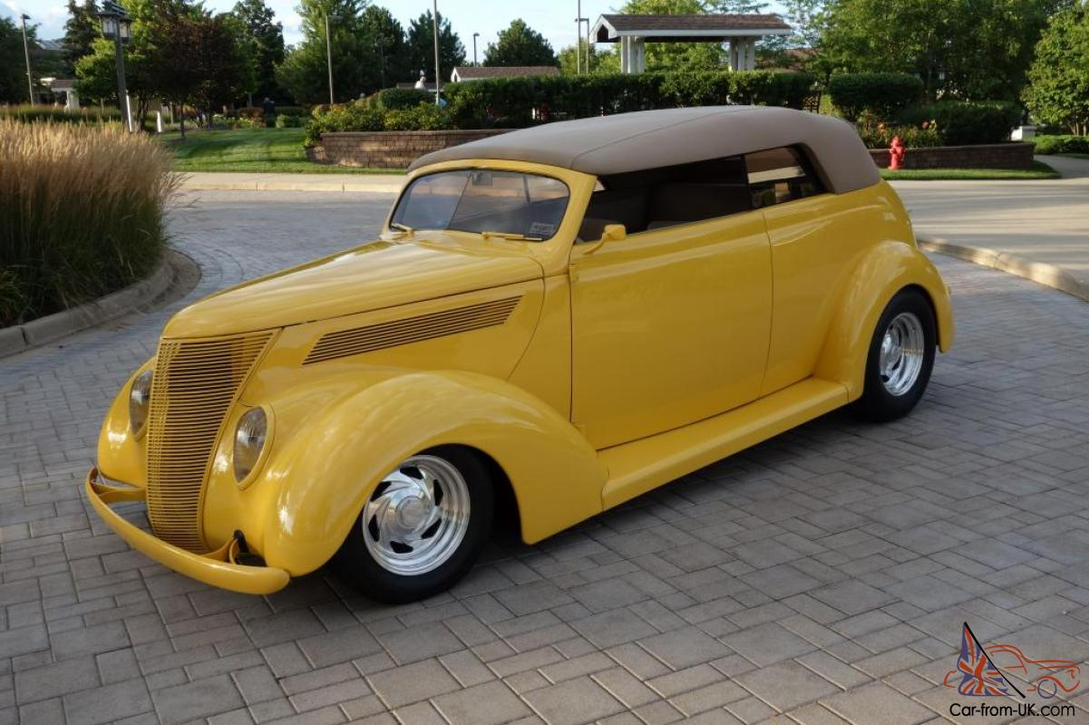 1937 Ford Cabriolet Street Rod Convertible Multiple Best Of Show Winner