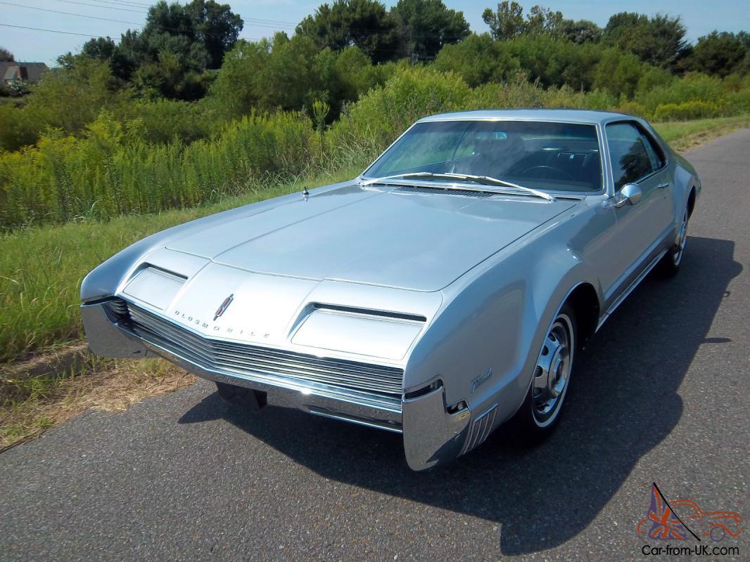 1966 Oldsmobile Toronado Deluxe Factory Options Excellent Original Condition