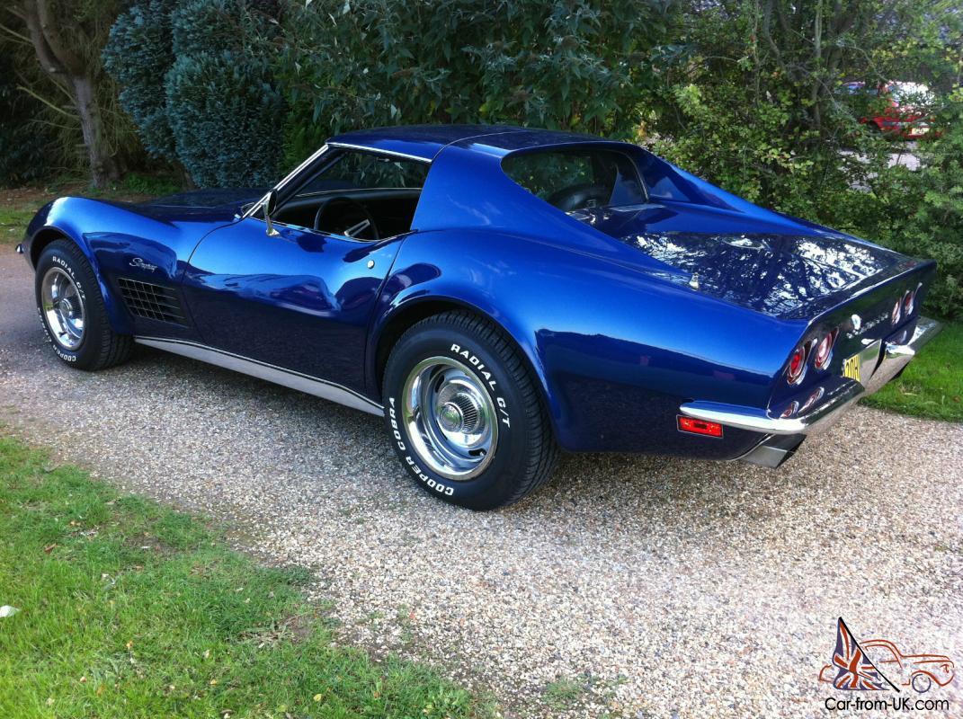Corvette 1970 chevrolet corvette stingray : 1970 C3 CORVETTE STINGRAY L46 5.7 4 Speed Manual in Mint condition