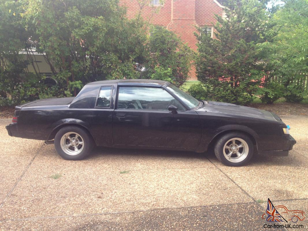 1987 Buick Grand National Heavily Modified And Fast Low Reserve