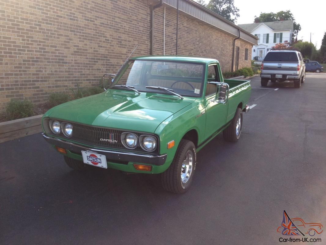 Datsun 620 Pickup Time Warp Barn Find