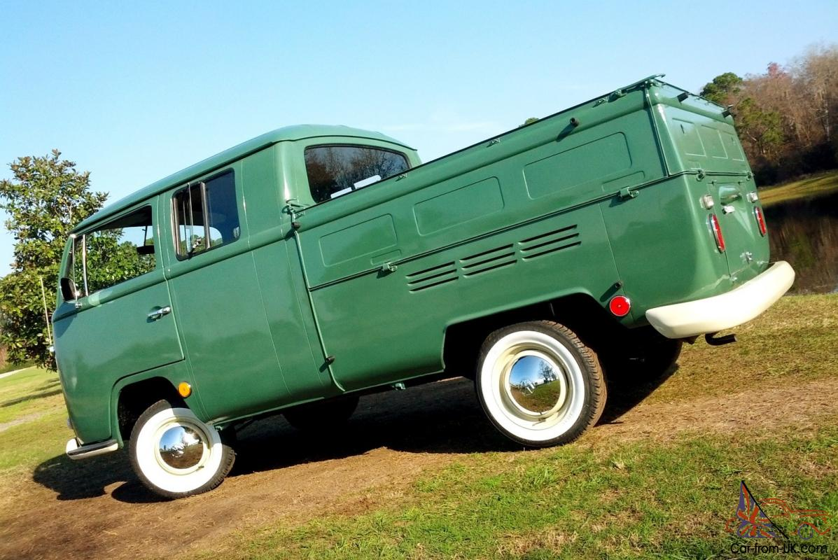 1970 VW Double Cab Crew Cab Pick Up Truck Bay Window